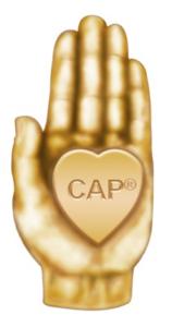 The symbol of the CAP® designation